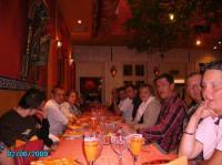 RESTAURANT DE FIN DE SAISON  LE  6 JUIN 2009